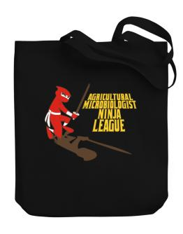 Agricultural Microbiologist Ninja League Canvas Tote Bag