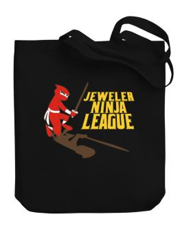 Jeweler Ninja League Canvas Tote Bag
