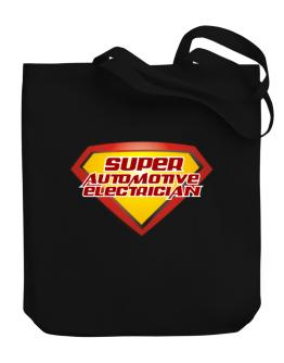 Super Automotive Electrician Canvas Tote Bag
