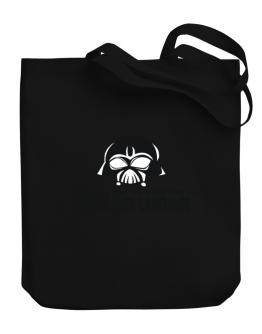 I Can Teach You The Dark Side Of Quebec Sign Language Canvas Tote Bag