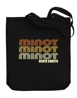 Minot State Canvas Tote Bag