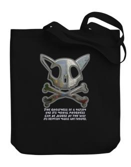 The Greatnes Of A Nation - Egyptian Maus Canvas Tote Bag
