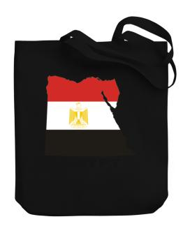Egypt - Country Map Color Canvas Tote Bag