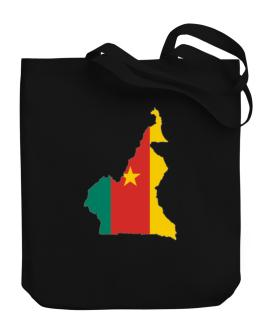 Cameroon - Country Map Color Simple Canvas Tote Bag