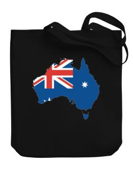 Australia - Country Map Color Simple Canvas Tote Bag