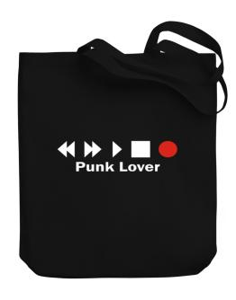 Punk Lover Canvas Tote Bag
