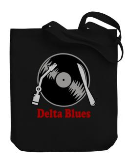Delta Blues - Lp Canvas Tote Bag