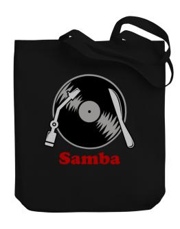 Samba - Lp Canvas Tote Bag