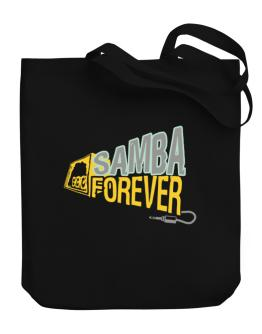 Samba Forever Canvas Tote Bag