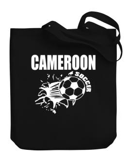 All Soccer Cameroon Canvas Tote Bag