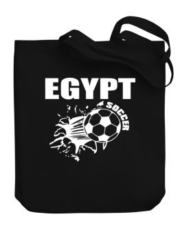 All Soccer Egypt Canvas Tote Bag