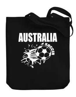 All Soccer Australia Canvas Tote Bag