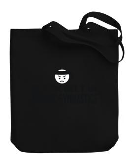 Black Belt In Aerobic Gymnastics Canvas Tote Bag