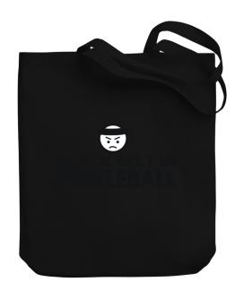 Black Belt In Pickleball Canvas Tote Bag