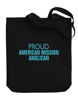 Proud American Mission Anglican Canvas Tote Bag