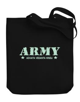 Army Advaita Vedanta Hindu Canvas Tote Bag