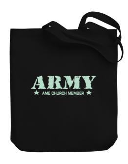 Army Ame Church Member Canvas Tote Bag