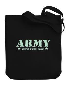Army Disciples Of Chirst Member Canvas Tote Bag