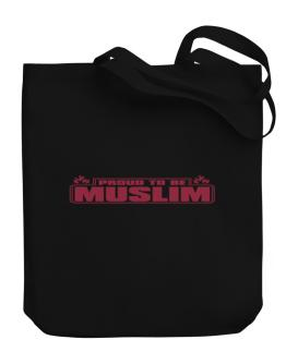 Proud To Be Muslim Canvas Tote Bag