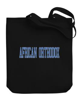 African Orthodox - Simple Athletic Canvas Tote Bag