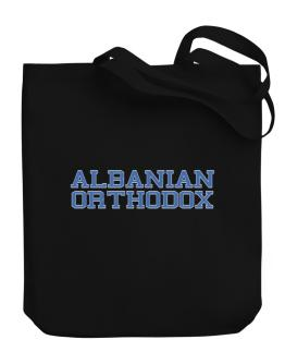 Albanian Orthodox - Simple Athletic Canvas Tote Bag