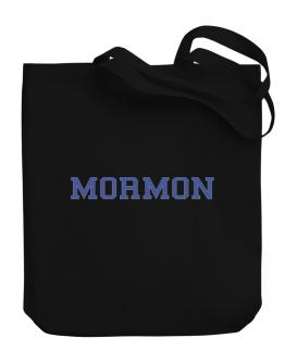 Mormon - Simple Athletic Canvas Tote Bag