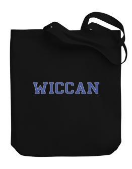 Wiccan - Simple Athletic Canvas Tote Bag