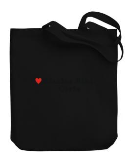 I Love Khalsa Sikh Girls Canvas Tote Bag