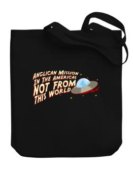Anglican Mission In The Americas Not From This World Canvas Tote Bag