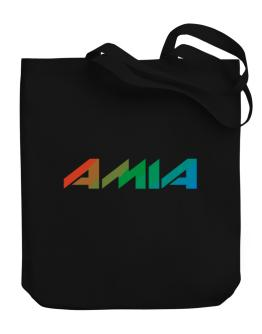 Amia Canvas Tote Bag