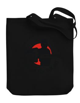 Advaita Vedanta Hindu By Day, Ninja By Night Canvas Tote Bag