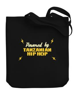Powered By Tanzanian Hip Hop Canvas Tote Bag