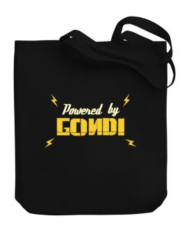 Powered By Gondi Canvas Tote Bag