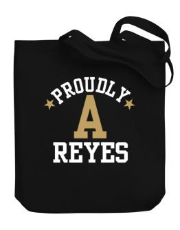 Proudly Reyes Canvas Tote Bag