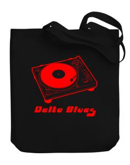 Retro Delta Blues - Music Canvas Tote Bag