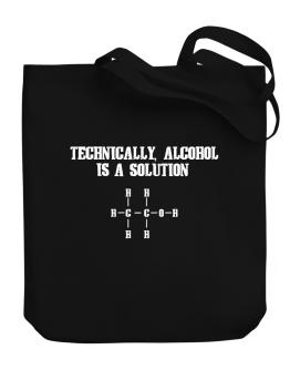 Bolso de Alcohol is a solution