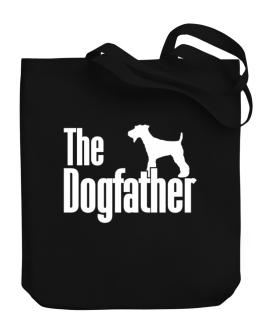 The dogfather Fox Terrier Canvas Tote Bag
