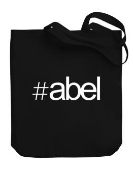 Hashtag Abel Canvas Tote Bag