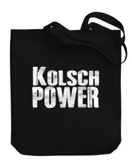 Kolsch power Canvas Tote Bag