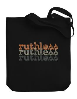 ruthless repeat retro Canvas Tote Bag