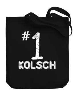 Number 1 Kolsch Canvas Tote Bag