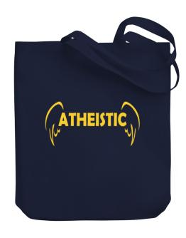 Atheistic - Wings Canvas Tote Bag