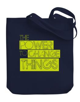 Bolso de The Power To Change Things - Obama