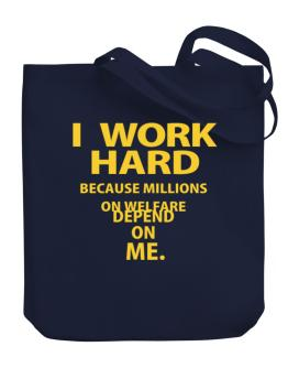 Bolso de I work hard