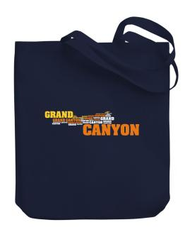 The Grand Canyon Canvas Tote Bag