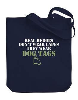 Bolso de Real Heroes wear dog tags