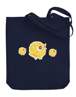 Cute baby chicks Canvas Tote Bag