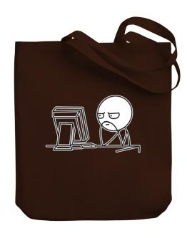 Computer guy Canvas Tote Bag