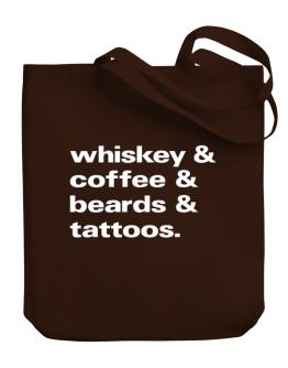 Bolso de Whiskey coffee beards and tattoos