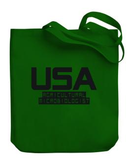 Usa Agricultural Microbiologist Canvas Tote Bag